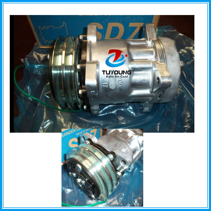 7h15 S8264 Vehicle Air Conditioning Compressor 2 Pk 24 V R134a Auto Pump Ac 3730506580 1418602180 In A C Clutch From