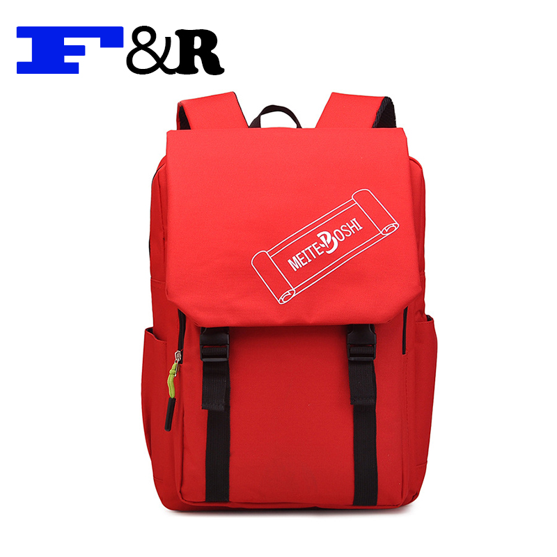 2016 Fashion Design Oxford bag Women Backpack Casual School Bags For Teenagers Girls High Quality Female