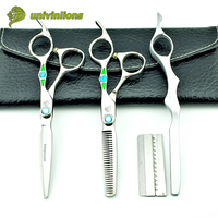 6 green diamond hair scissors hairdressing japanese hair cutting shears haircut clippers best barber scissors hairdresser razor