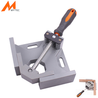 MYTEC Angle Clamps 90 degree Angle Vise Single Handle Adjustable For Frame Fight Splices Clip Woodworking Folder Tools