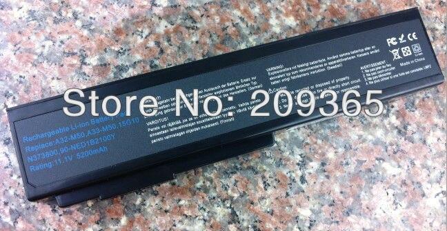 Baterias de Laptop a32-m50 a32-a32-n61 x64 a33-m50 l07205 Capacidade de Bateria : 4001 - 5000 MAH