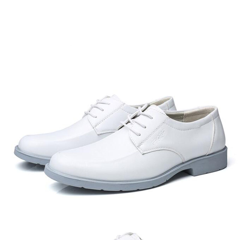 White Wedding Shoes Men Big Size 39 48