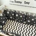 Детская кровать бампер 1 шт. 60*30 СМ bebek кроватки бампер детская кровать вокруг защиты облака звезды дерево дизайн детская кроватка бампер кама