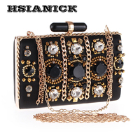 Europe And United States New Ladies Dinner Bag High End Heavy Handmade Chain Evening Bag Luxury