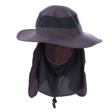 5bff33744f00c Cover Fishing sun protection cap Outdoor Sport Hiking Camping Visor Hat  Protection Face Neck UV resistant
