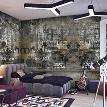 European Retro Style Old Wall Graffiti Photo Mural Wall Paper For Living Room Bedroom Restaurant Decor Custom Size 3D Wallpaper цена 2017
