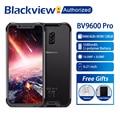 Blackview BV9600 Pro IP68 Водонепроницаемый мобильный телефон на процессоре Helio P60 Octa core 6 ГБ Оперативная память 128 Гб Встроенная память 6,21