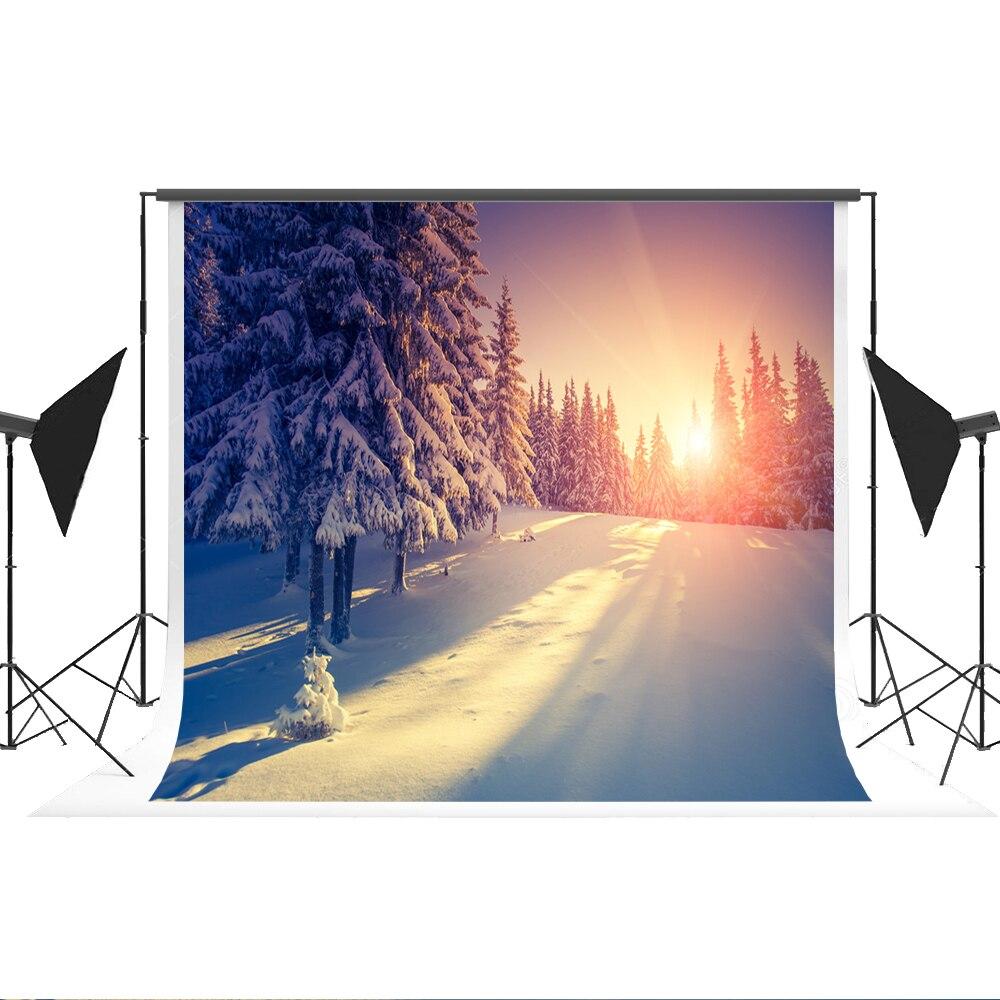 Kate Pastel Backdrops Photography Winter Scenic Photo-backdrop Cotton Portrait Photography for Photo Studio Background Shoot 7x5 lightdow cotton photography backdrop for photo studio