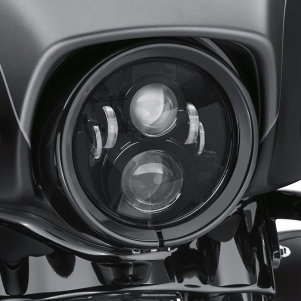 How To Adjust Headlights >> DOT 60W 7 inch Daymaker LED Headlight Projector For Harley ...