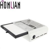 Honlian 40W High Power Nail Art Salon Dust Collector Dust Machine Vacuum Cleaner Manicure Pedicure Tools