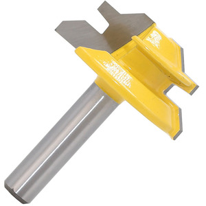 Image 5 - 1Pc 45 Degree Lock Miter Router Bit 8*1 1/2 Inch Shank Woodworking Tenon Milling Cutter Tool Drilling Milling For Wood Carbide