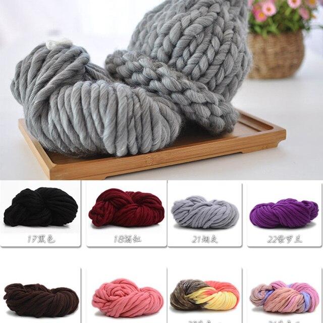 Super gruesa capas de hilo suave lana Roving voluminosos hilos ...