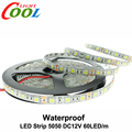 LED Strip 5050 DC12V Flexible LED Light 60LED/m 5m/Lot White / Warm White / Cold White / RGB 5050 LED Strip