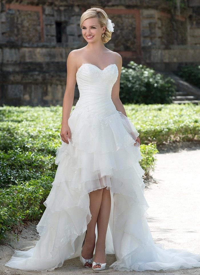 Online Buy Wholesale Wedding Dress Short Front Long Back From China Wedding D