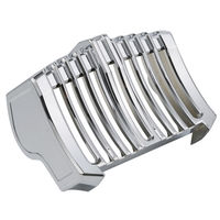Oil Cooler Cover Trim Accent For Harley Freewheeler Milwaukee Eight Touring Electra Road Street Glide 17 18 Chrome