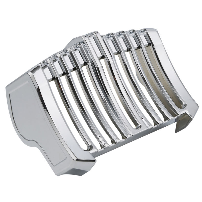 Oil Cooler Cover Trim Accent For Harley Freewheeler Milwaukee-Eight Touring Electra Road Street Glide 17-18 Chrome