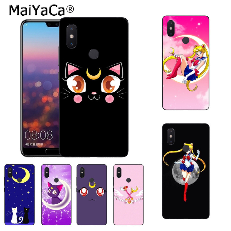 Search For Flights Maiyaca Anime Sailor Moon Lune Cat Fashion Phone Case Cover For Xiaomi Mi 8se 6 Note2 Note3 Redmi 5 Plus Note 4 5 Cover Mild And Mellow Phone Bags & Cases