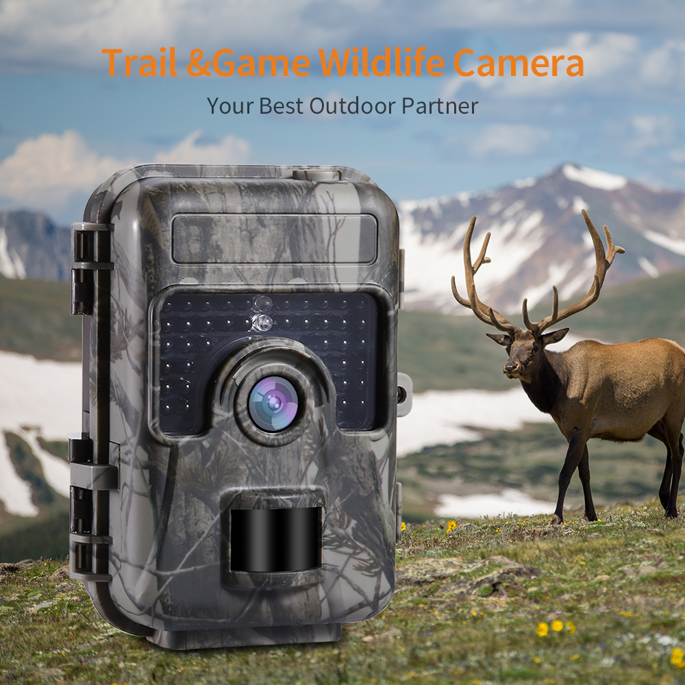 HH-662 1080P 16MP HD Trail Hunting Camera Farm Wlidlife Scout Infrared Night Vsion LED CAM Motion Detection IP66