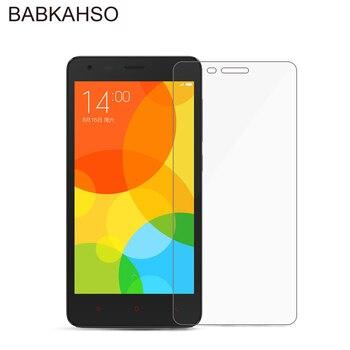 for Xiaomi Redmi 2 Screen Protector Tempered Glass for Xaomi hongmi Redmi2 Protective Film