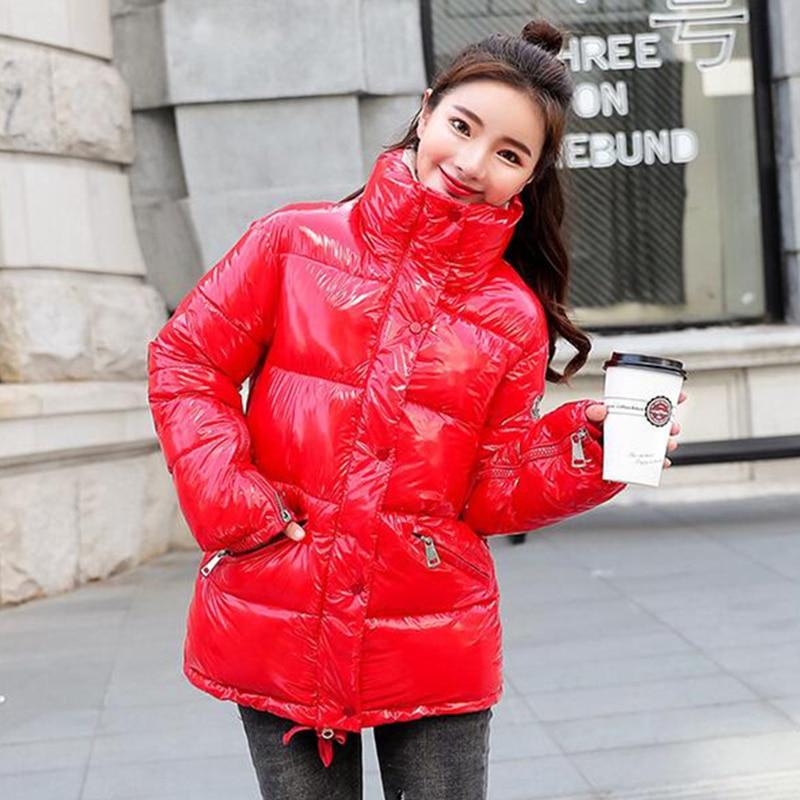 Manteau rouge hiver 2019