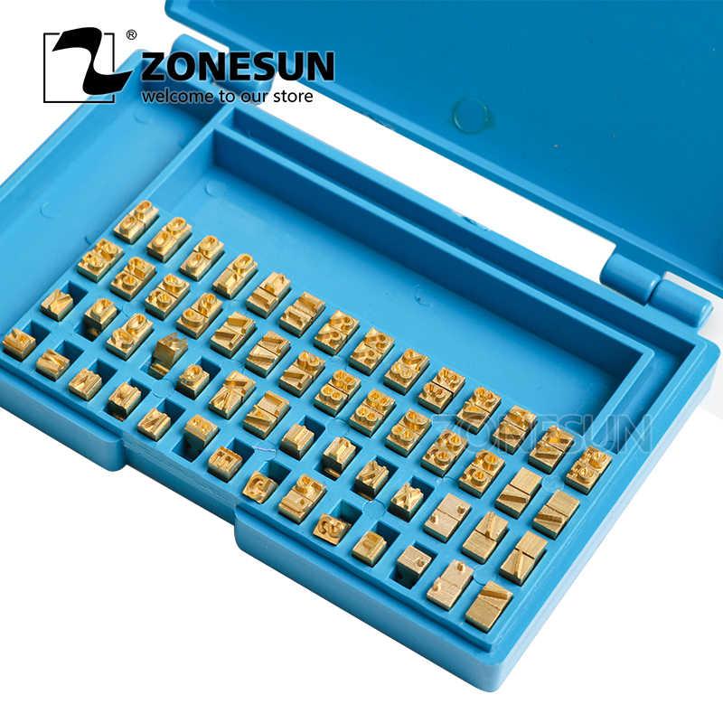 MY380 Alfabet Huruf Font Ribbon Printer Heat Stamping Kepala Pita Hot Stamping Spare Part Kode Kedaluwarsa Mesin Cetak
