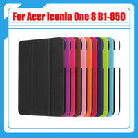 10 Colors Ultra Slim Smart Magnetic Sleep Wake Skin Case 8 Inch For Acer Iconia One