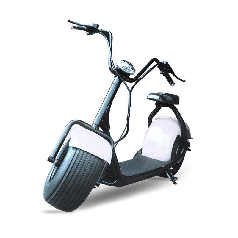 Nouvelle vente chaude 18*9.5 pneu ville-coco scooter électrique 1000 W citycoco scooter 2 grandes roues ville scooter, taxe gratuite - 3
