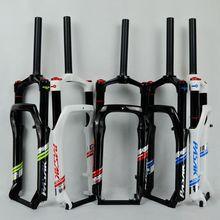 """20 """"bicicleta da Neve Garfo Gordura bicicleta Garfos Garfos de Suspensão de Bloqueio De Gás De Ar Para 4.0"""" Pneu 135mm 1800g"""
