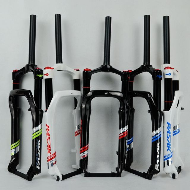 "20"" Snow bike Fork Fat bicycle Forks Air Gas Locking Suspension Forks For 4.0""Tire 135mm 1800g"