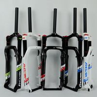 20 Snow bike Fork Fat bicycle Forks Air Gas Locking Suspension Forks For 4.0Tire 135mm 1800g