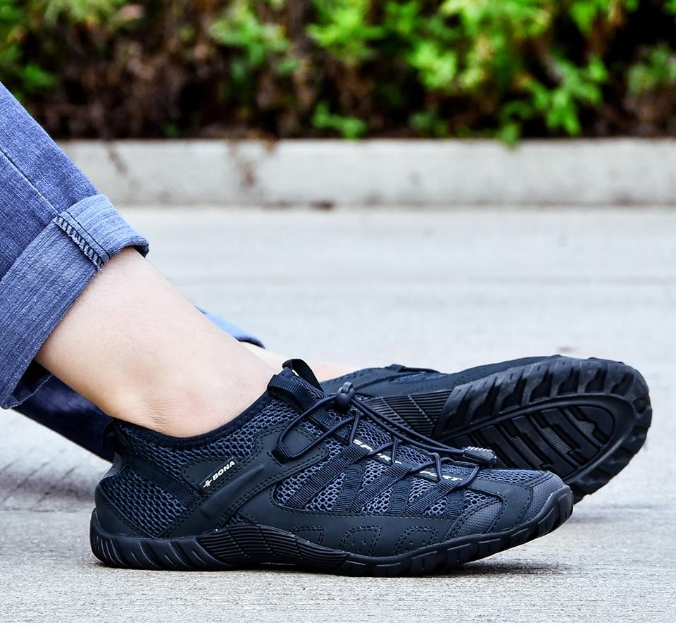 HTB1 ac6J25TBuNjSspcq6znGFXaj BONA 2018 Summer Sneakers Breathable Men Casual Shoes Fashion Men Shoes Tenis Masculino Adulto Sapato Masculino Men Leisure Shoe