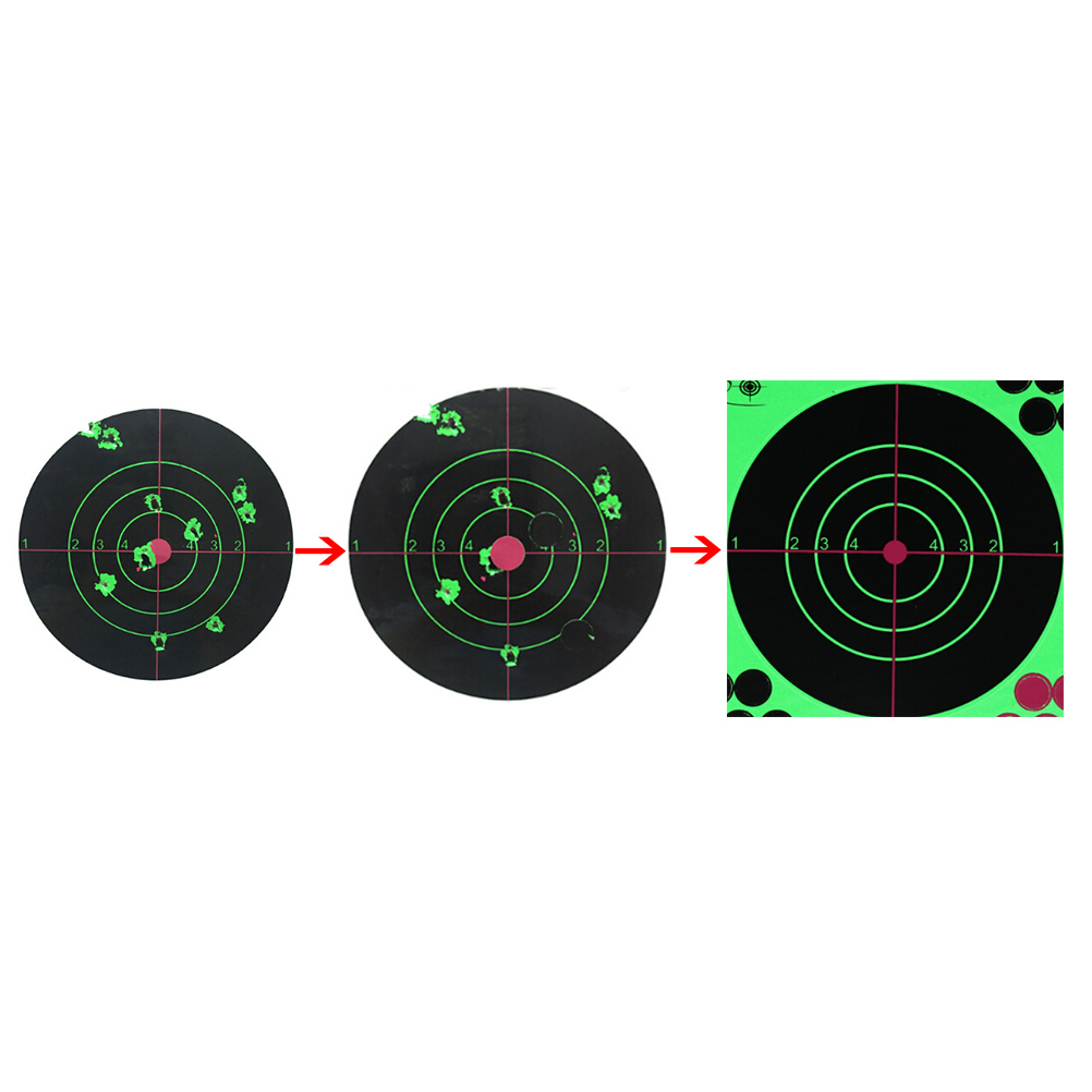 Targets Stickers 1/5/10 Pcs Per Pack Hunting And Shooting Target Stickers 14 * 14 Cm