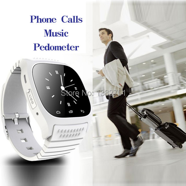 NEW Business bluetooth smartwatch M26 waterproof clock data Sync font b Phone b font calls For