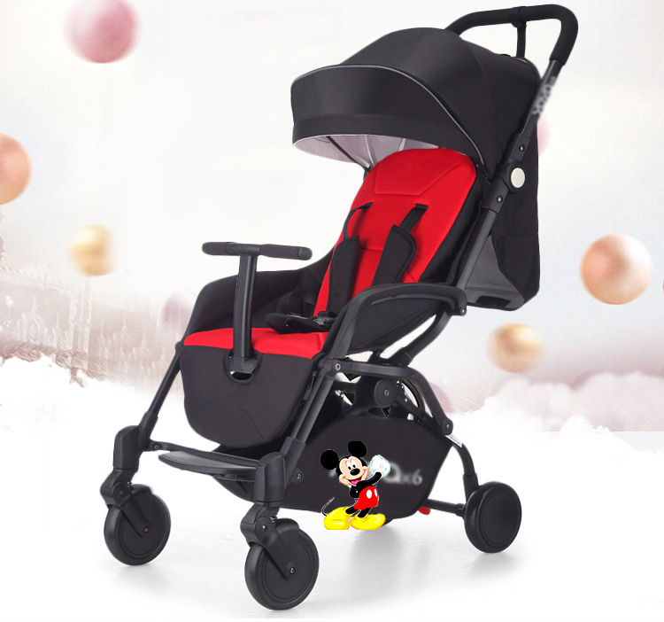 2018 New Style baby stroller light folding umbrella car can sit can lie ultra-light portable on the airplane