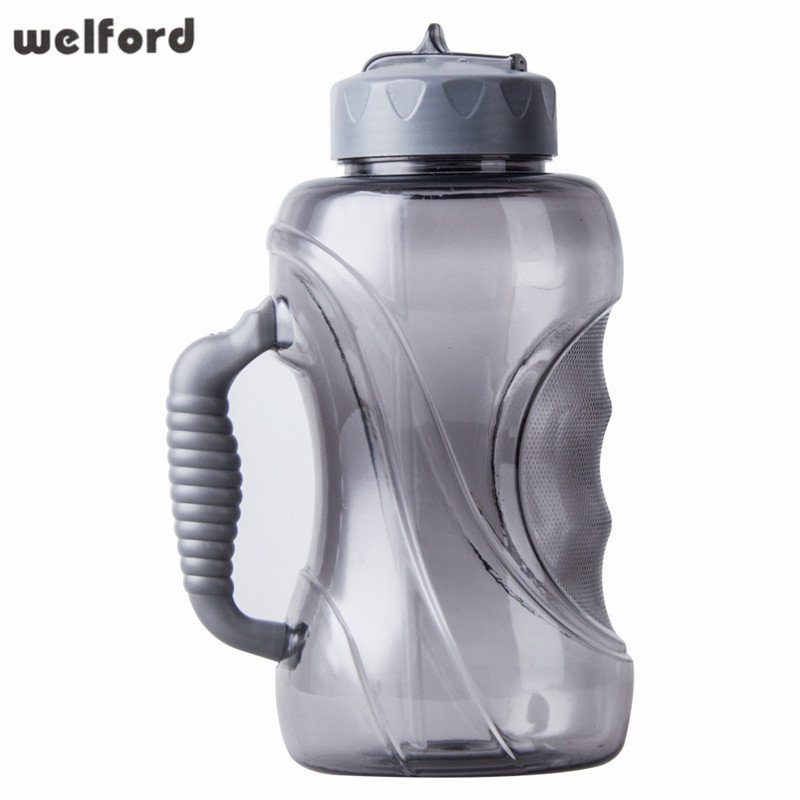 1500ML Large Capacity Water Bottle with Straw and Handle Leak ...