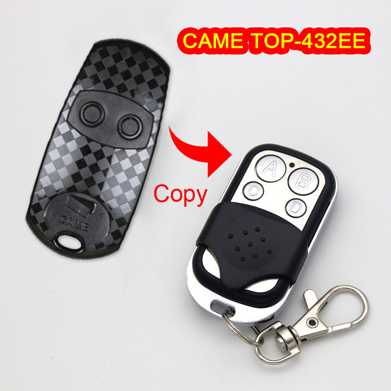 Copy CAME TOP-432EE Remote control CAME TOP432EE Garage remote control universal 433 MHz garage door remote control duplicator