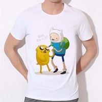 Bodybuilding Training T Shirts Man Clothing Adventure Time 2016 New Fashion Men S T Shirts Short