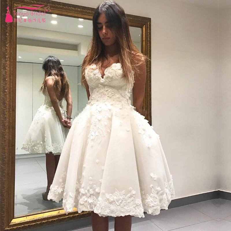 Cream Ivory Short   Prom     Dresses   2019 Off the Shoulder Appliques Knee Length Cocktail   Dress   for Graduation Party   Dresses   Junior