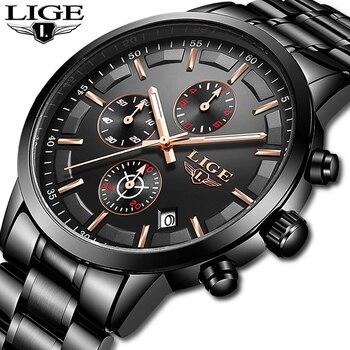 464e788b5753 2019 nuevo en este momento relojes para hombre marca de lujo reloj  masculino de moda resistente