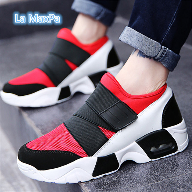 2018 Air Cushion Sneakers women and men Breathable Running Shoes for Women  Outdoor sport shoes men