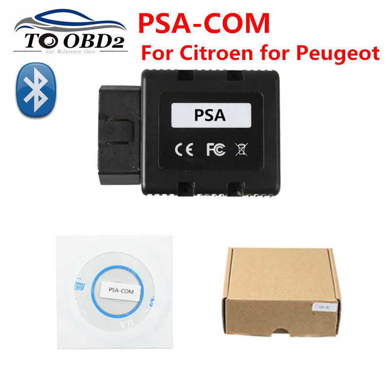 For Citroen for Peugeot vehicles Newest PSACOM Replacement of Lexia 3 PP2000 BT PSA COM Bluetooth