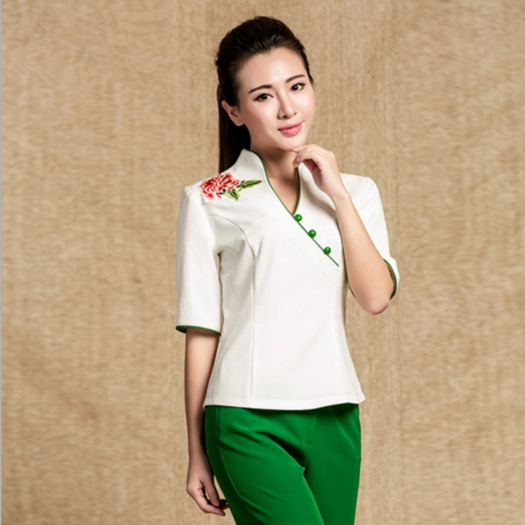 SPA Salon Work Suit Trousers Beauty Fashion Overalls