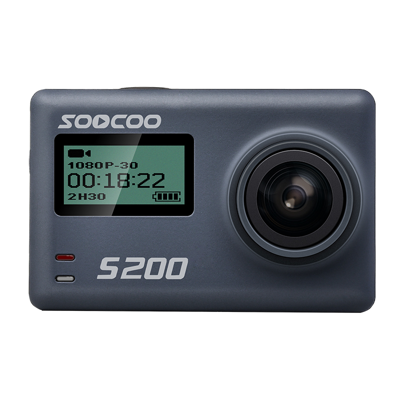 Double Screen Outdoor Sport Action Camera UHD 4K 24fps Waterproof DV Camcorder 1