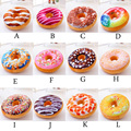 New personality creative Pillow Cushion Plush Toys Donuts bagels plush toys birthday gift 40 * 8 cm