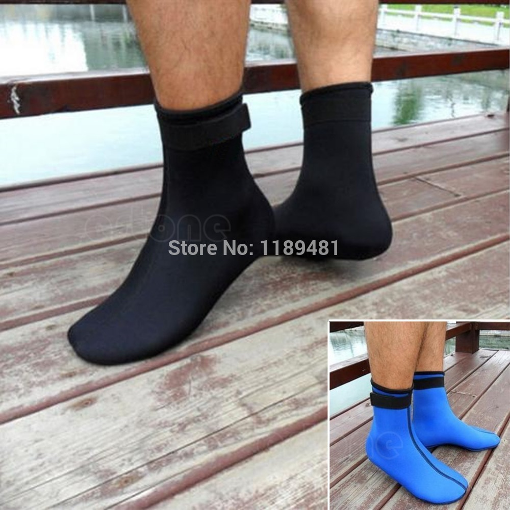 Neoprene 3mm Water Sports Swimming Scuba Diving Surfing Socks Snorkeling Boots 10166 10166