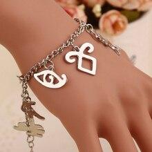 Fashin Jewelry Movie City of Bones Angelic Forces The Mortal Instruments Runes Bracelets