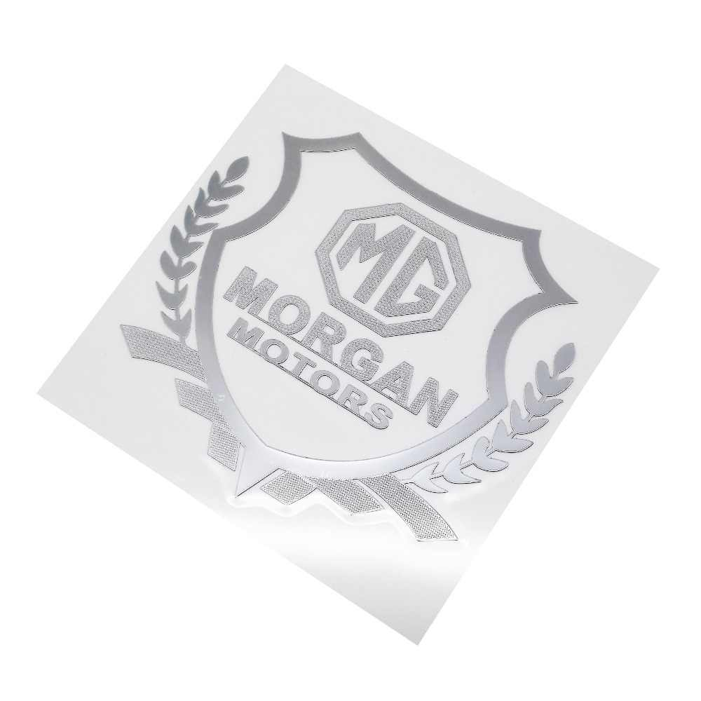 For morgan logo sticker for mg morris 3 garage mg3 mg5 mg6 mg7 tf zr cheap window stickers decal car exterior decoration badge