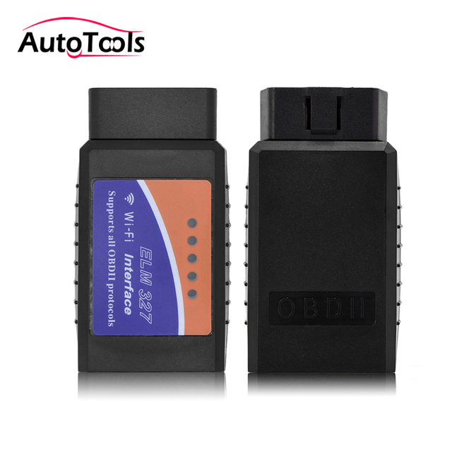 ELM327 WIFI V1.5 OBD2 car code reader bluetooth ELM327 PIC18F25K80 Support for Iphone IOS for android
