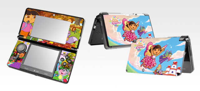 US $5 46 |354 Dora Vinyl Skin Sticker Protector for Nintendo 3DS skins  Stickers-in Stickers from Consumer Electronics on Aliexpress com | Alibaba