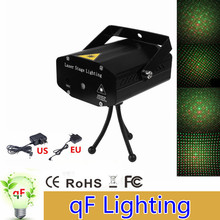 Hight Quality Mini aluminium alloy LED Laser Pointer Disco Stage Light Party Pattern Lighting Projector Show